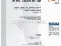 Certificate ISO:9001